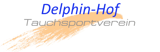 Delphin Hof Schriftzug